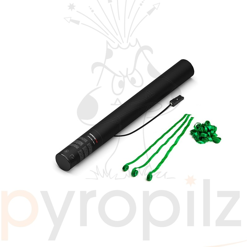 Electric Cannon - Streamers - Dark Green