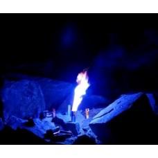 Bengaltopf mit 60 sec. Brenndauer in der Farbe Blau