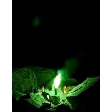 Bengaltopf mit 60 sec. Brenndauer in der Farbe Grün