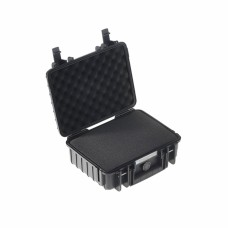 B&W Outdoor Case Type 1000 Schwarz/Schaumstoff