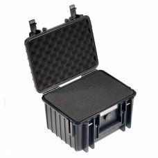 B&W Outdoor Case Type 2000 Schwarz/Schaumstoff