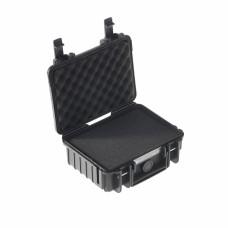 B&W Outdoor Case Type 500 Schwarz/Schaumstoff