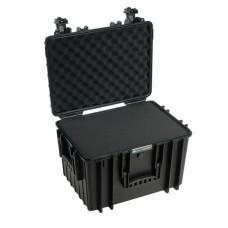 B&W Outdoor Case Type 5500 Schwarz/Schaumstoff