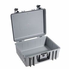 B&W Outdoor Case Type 6000 Grau/LEER