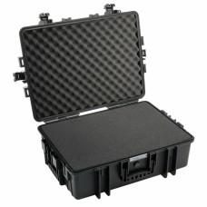 B&W Outdoor Case Type 6500 Schwarz/Schaumstoff