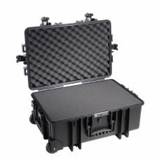 B&W Outdoor Case Type 6700 Schwarz/Schaumstoff