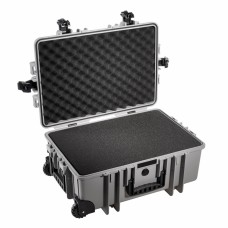B&W Outdoor Case Type 6700 Grau/Schaumstoff