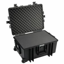 B&W Outdoor Case Type 6800 Schwarz/Schaumstoff