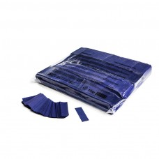 Slowfall confetti rectangles 55x17mm - Dark Blue / Bulk Bag 1KG