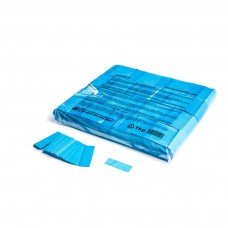 Slowfall confetti rectangles 55x17mm - Light Blue / Bulk Bag 1KG