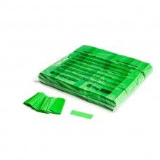 Slowfall confetti rectangles 55x17mm - Light Green / Bulk Bag 1KG