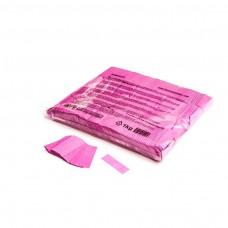 Slowfall confetti rectangles 55x17mm - Pink / Bulk Bag 1KG
