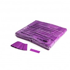 Slowfall confetti rectangles 55x17mm - Purple / Bulk Bag 1KG