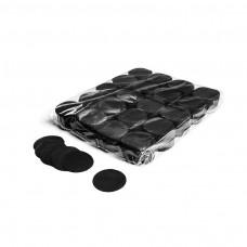 Slowfall confetti rounds Ø 55mm - Black / Bulk Bag 1KG