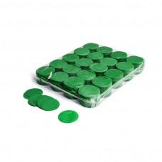 Slowfall confetti rounds Ø 55mm - Dark Green / Bulk Bag 1KG