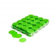 Slowfall confetti rounds Ø 55mm - Light Green / Bulk Bag 1KG