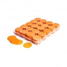 Slowfall confetti rounds Ø 55mm - Orange / Bulk Bag 1KG