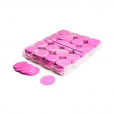 Slowfall confetti rounds Ø 55mm - Pink / Bulk Bag 1KG