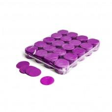 Slowfall confetti rounds Ø 55mm - Purple / Bulk Bag 1KG