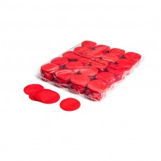 Slowfall confetti rounds Ø 55mm - Red / Bulk Bag 1KG