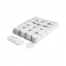 Slowfall confetti rounds Ø 55mm - White / Bulk Bag 1KG