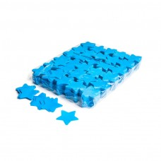Slowfall confetti stars Ø 55mm - Light Blue / Bulk Bag 1KG