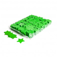 Slowfall confetti stars Ø 55mm - Light Green / Bulk Bag 1KG