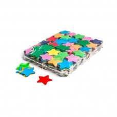Slowfall confetti stars Ø 55mm - Multicolour / Bulk Bag 1KG