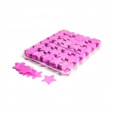 Slowfall confetti stars Ø 55mm - Pink / Bulk Bag 1KG