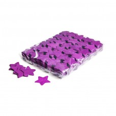 Slowfall confetti stars Ø 55mm - Purple / Bulk Bag 1KG