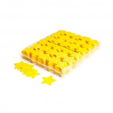 Slowfall confetti stars Ø 55mm - Yellow / Bulk Bag 1KG