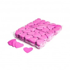 Slowfall confetti hearts Ø 55mm - Pink / Bulk Bag 1KG