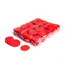 Slowfall confetti rose petals Ø 55mm - Red / Bulk Bag 1KG