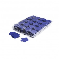 Slowfall confetti flowers Ø 55mm - Dark Blue / Bulk Bag 1KG