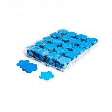 Slowfall confetti flowers Ø 55mm - Light Blue / Bulk Bag 1KG