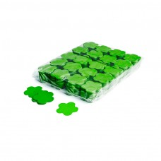 Slowfall confetti flowers Ø 55mm - Light Green / Bulk Bag 1KG