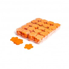 Slowfall confetti flowers Ø 55mm - Orange / Bulk Bag 1KG