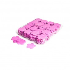Slowfall confetti flowers Ø 55mm - Pink / Bulk Bag 1KG
