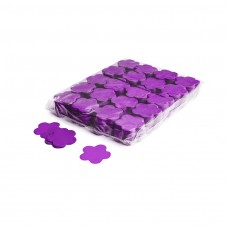 Slowfall confetti flowers Ø 55mm - Purple / Bulk Bag 1KG