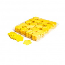 Slowfall confetti flowers Ø 55mm - Yellow / Bulk Bag 1KG