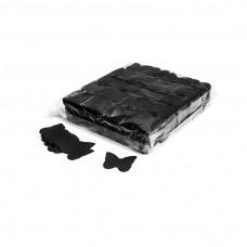 Slowfall confetti butterflies Ø 55mm - Black / Bulk Bag 1KG