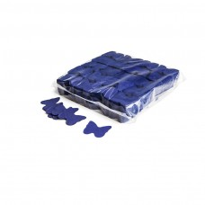 Slowfall confetti butterflies Ø 55mm - Dark Blue / Bulk Bag 1KG