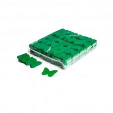 Slowfall confetti butterflies Ø 55mm - Dark Green / Bulk Bag 1KG