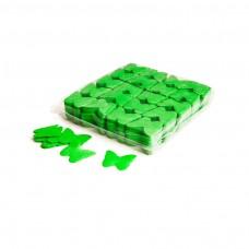 Slowfall confetti butterflies Ø 55mm - Light Green / Bulk Bag 1KG