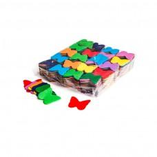 Slowfall confetti butterflies Ø 55mm - Multicolour / Bulk Bag 1KG