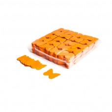 Slowfall confetti butterflies Ø 55mm - Orange / Bulk Bag 1KG