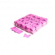 Slowfall confetti butterflies Ø 55mm - Pink / Bulk Bag 1KG