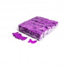 Slowfall confetti butterflies Ø 55mm - Purple / Bulk Bag 1KG