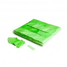 Slowfall UV confetti 55x17mm - Fluo Green / Bulk Bag 1KG