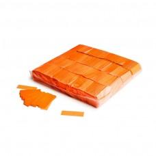 Slowfall UV confetti 55x17mm - Fluo Orange / Bulk Bag 1KG